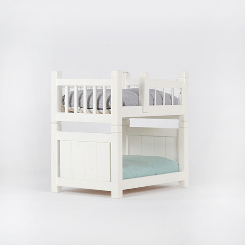 2F Bed - White